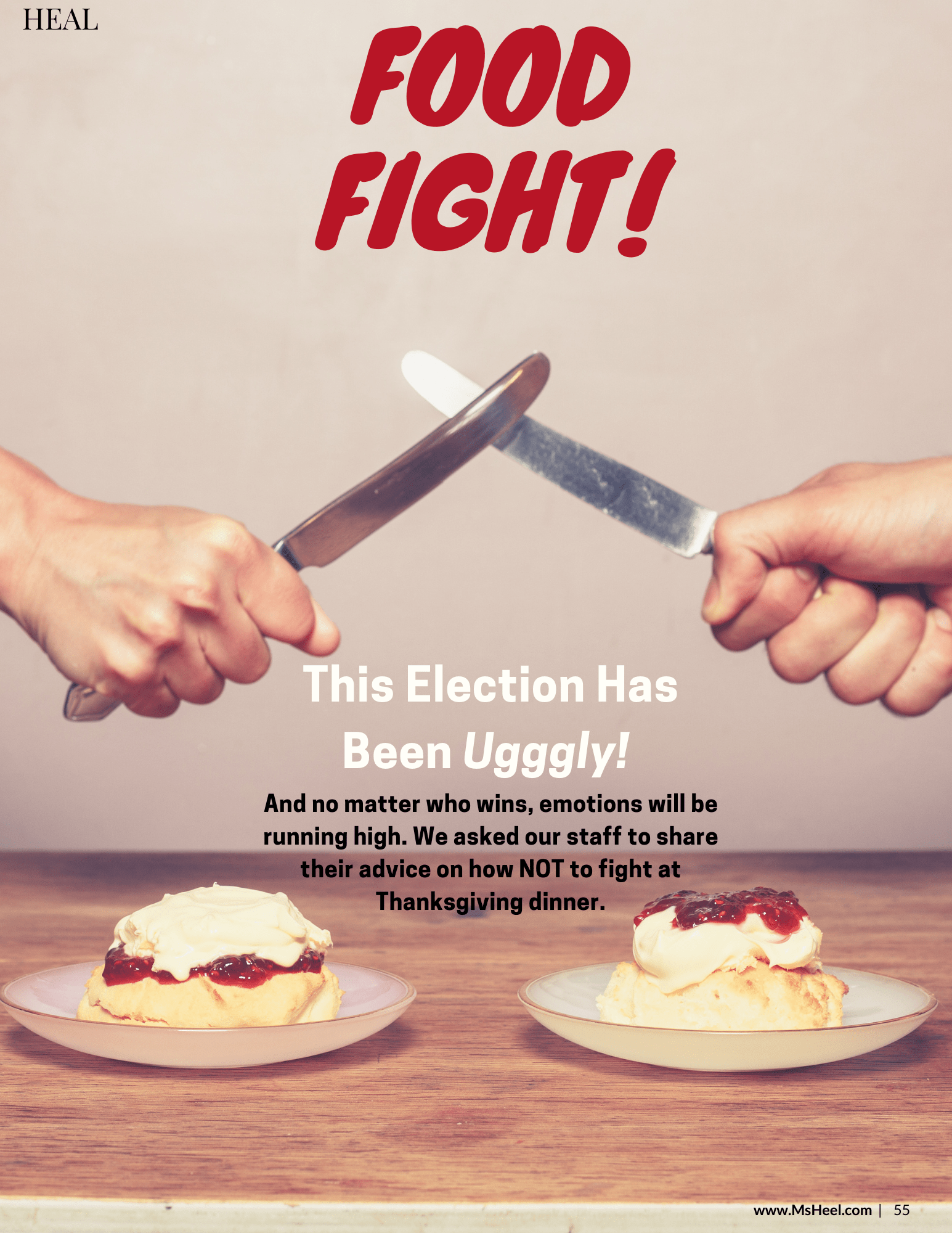 How NOT to fight with your family at the dinner table over politics