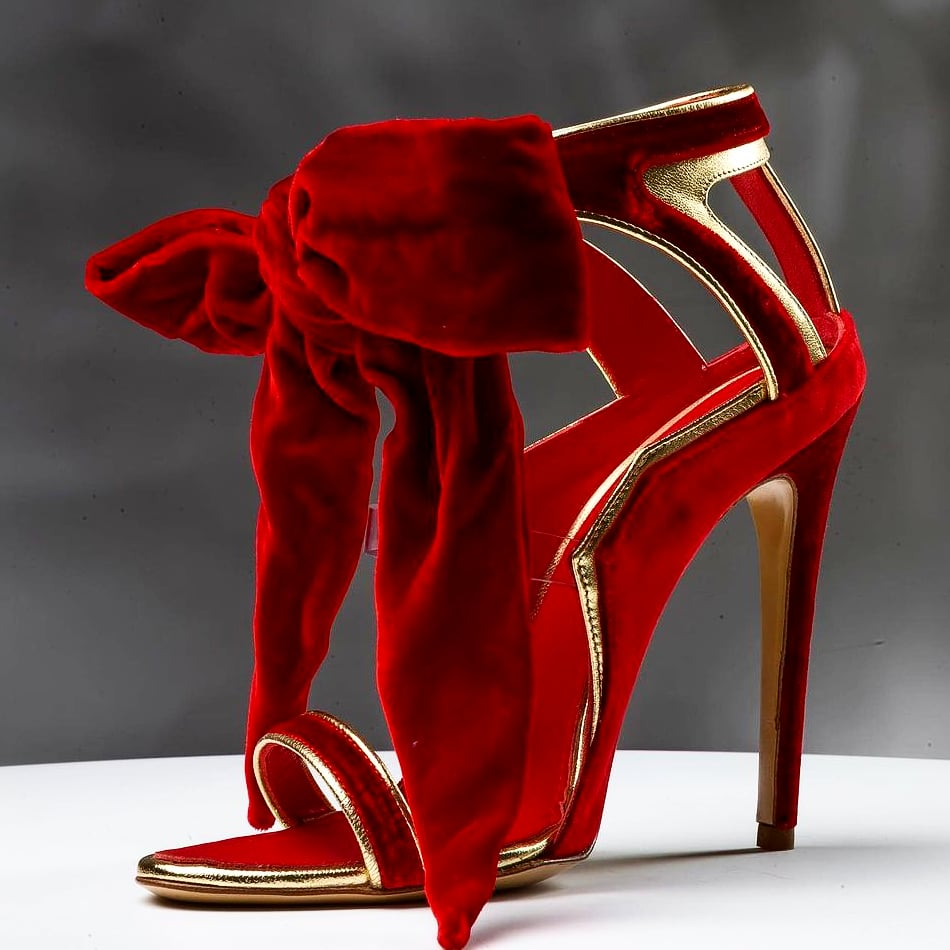 Agnes Bethel Pat Royalty Red heel