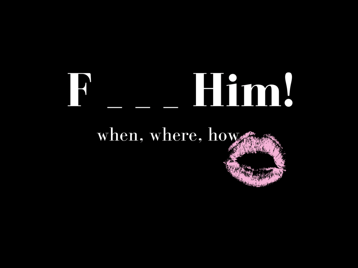 F_ _ _ Him! when, where, how by Velicia Hill.