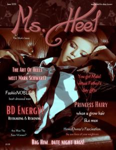 June 21' Ms. Heel Magazine