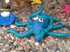 octopus beneath the sea