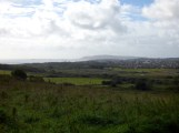 Looking across Weymouth & Portland from Lorton Meadows
