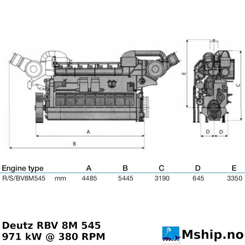 Deutz RBV 8M 545