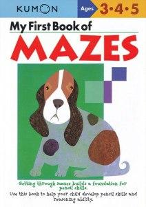 KUMON_3-4-5_years_My_first_book_of_mazes