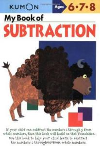 KUMON_6-7-8_years_My Book of Subtraction