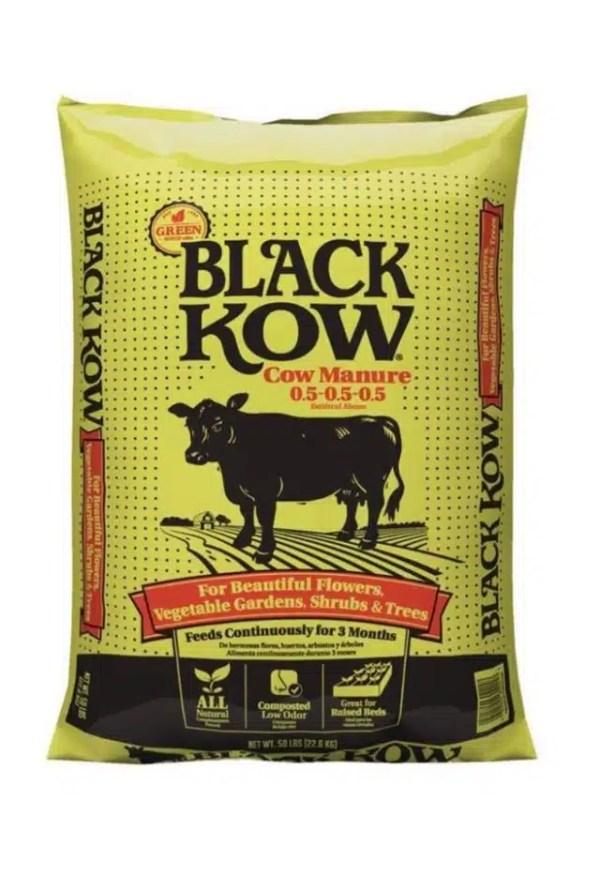 سماد أبقار البقرة السوداء - Black Kow® composted cow manure