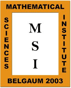 MSI-Research Conclave in Mathematics