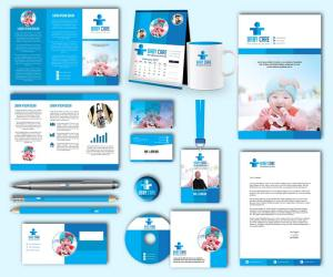 Baby Care Print Design