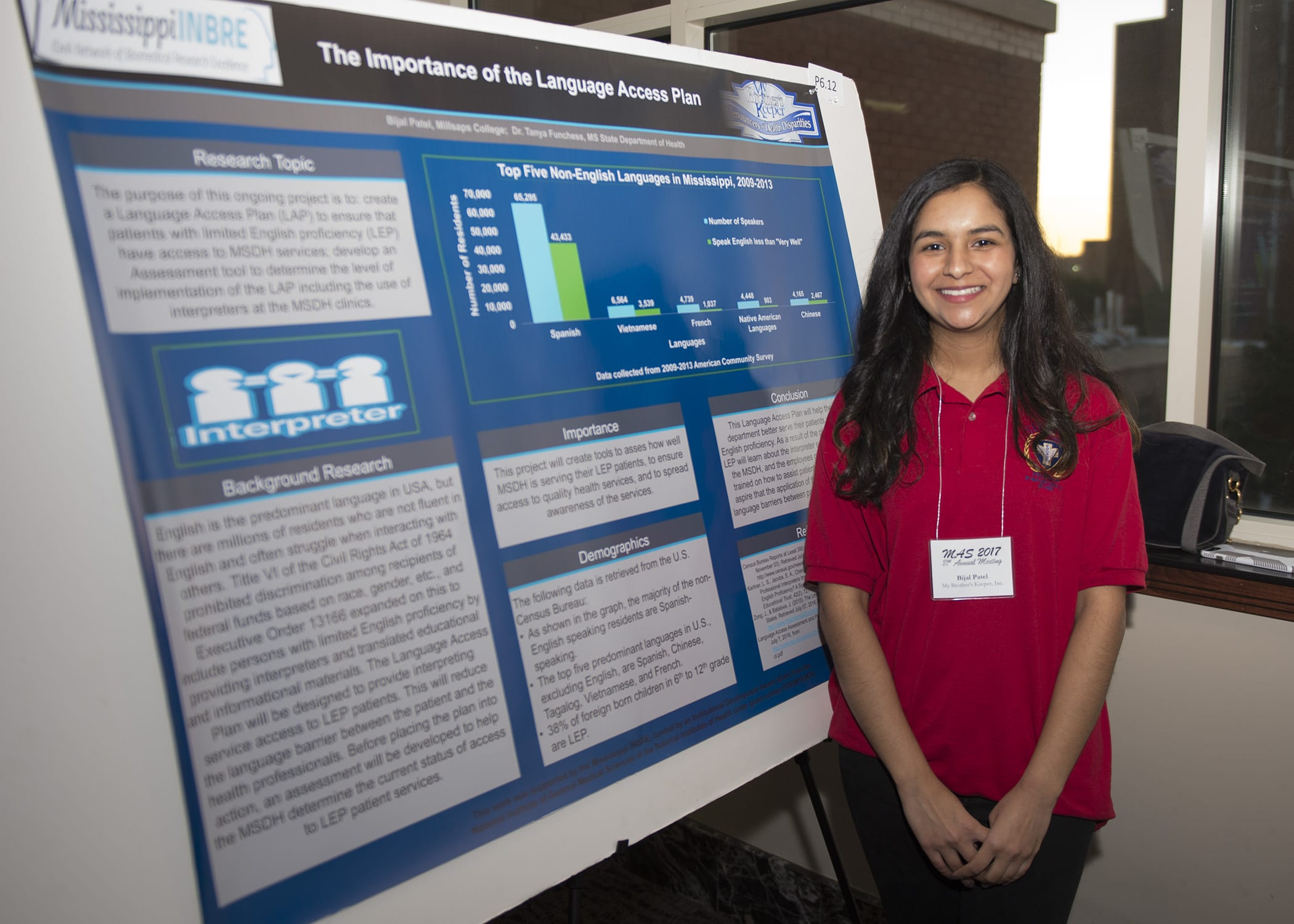 Catching up with Mississippi INBRE Service Scholar, Bijalben Patel