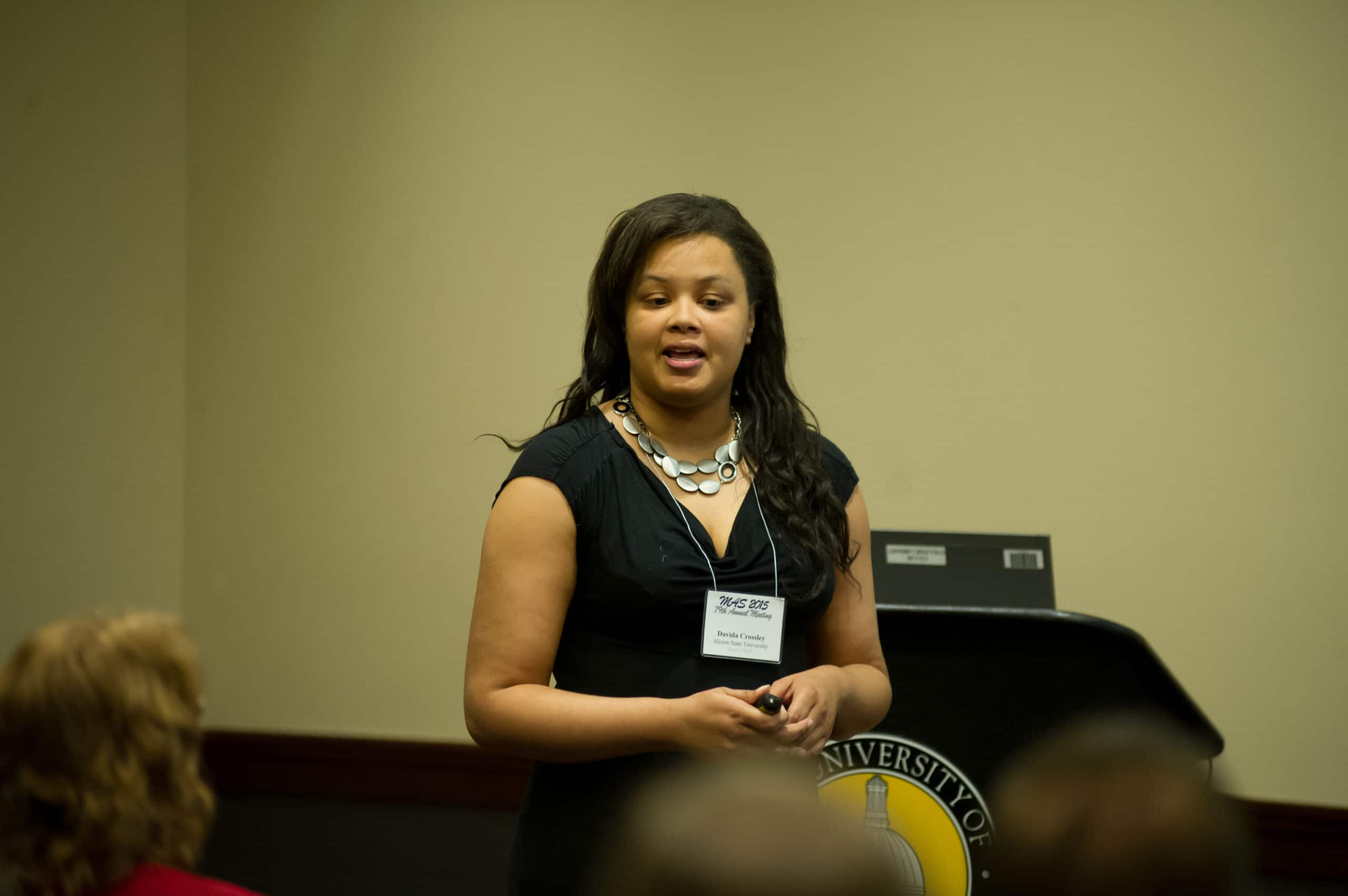 Catching up with 2004-13 Mississippi INBRE Academic-Year Scholar, Dr. Davida Crossley
