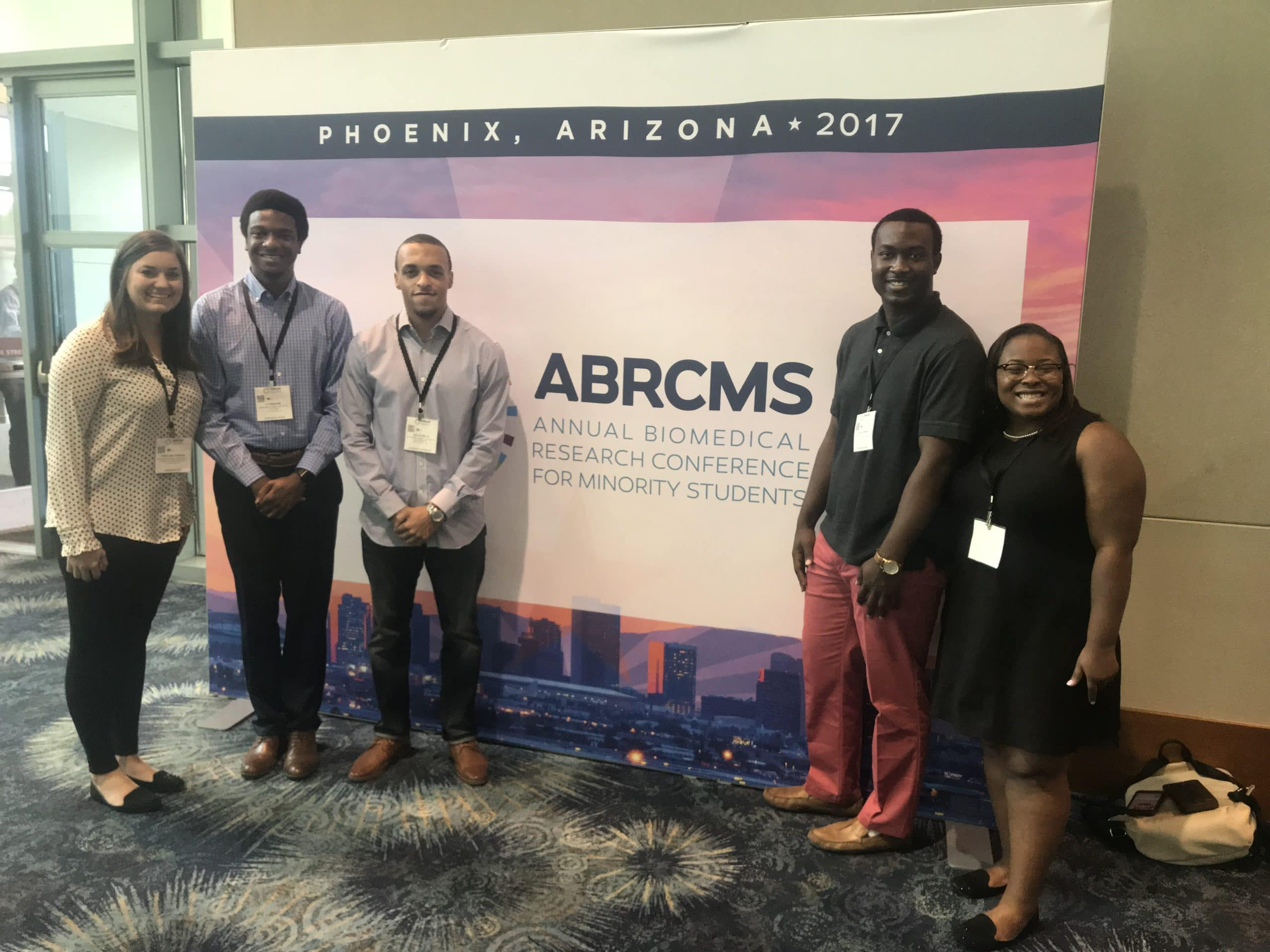 Mississippi INBRE Sends Students to National Conference, ABRCMS