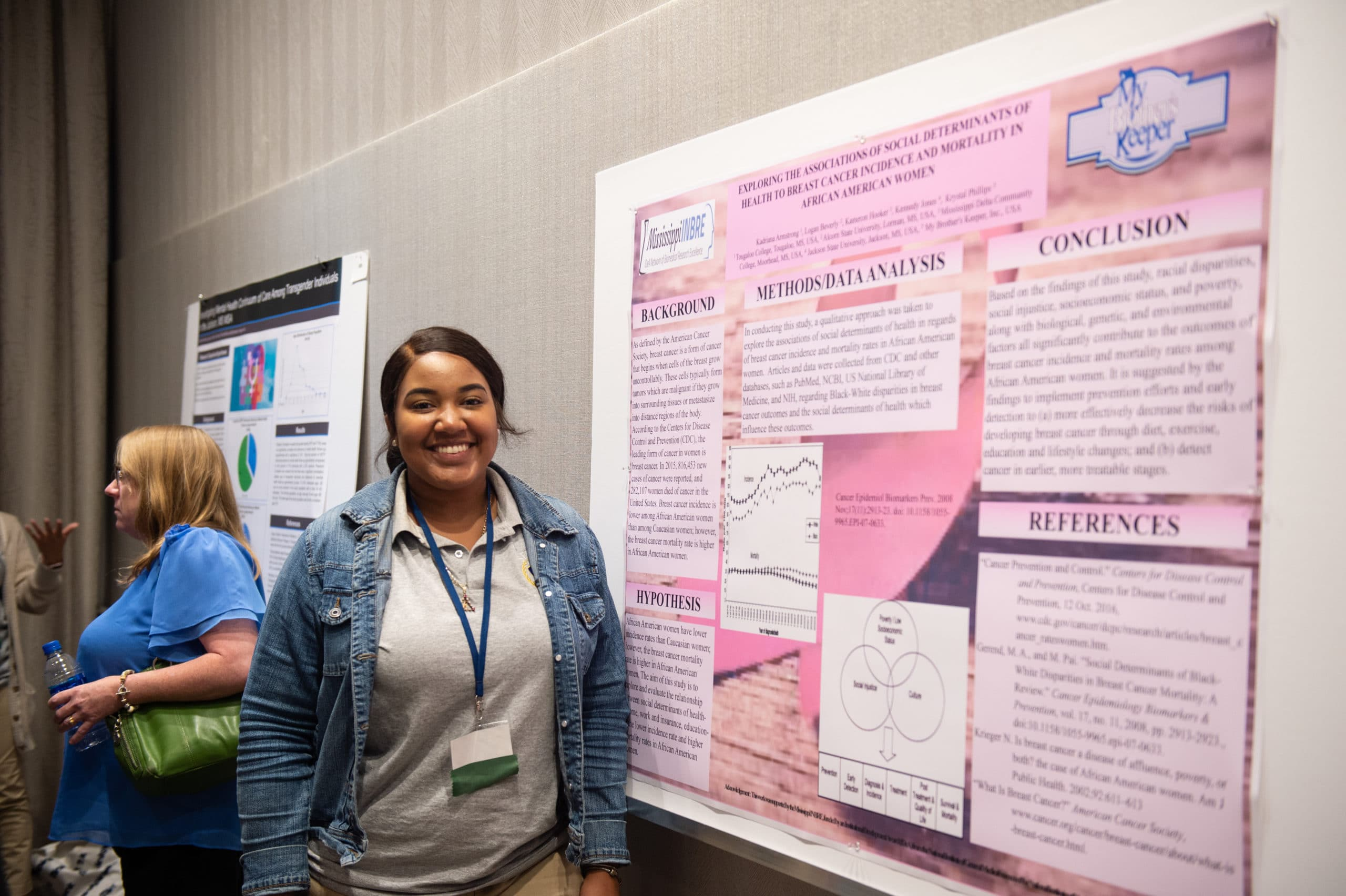 Catching up with 2018 Mississippi INBRE Service Scholar, Kadriana Armstrong