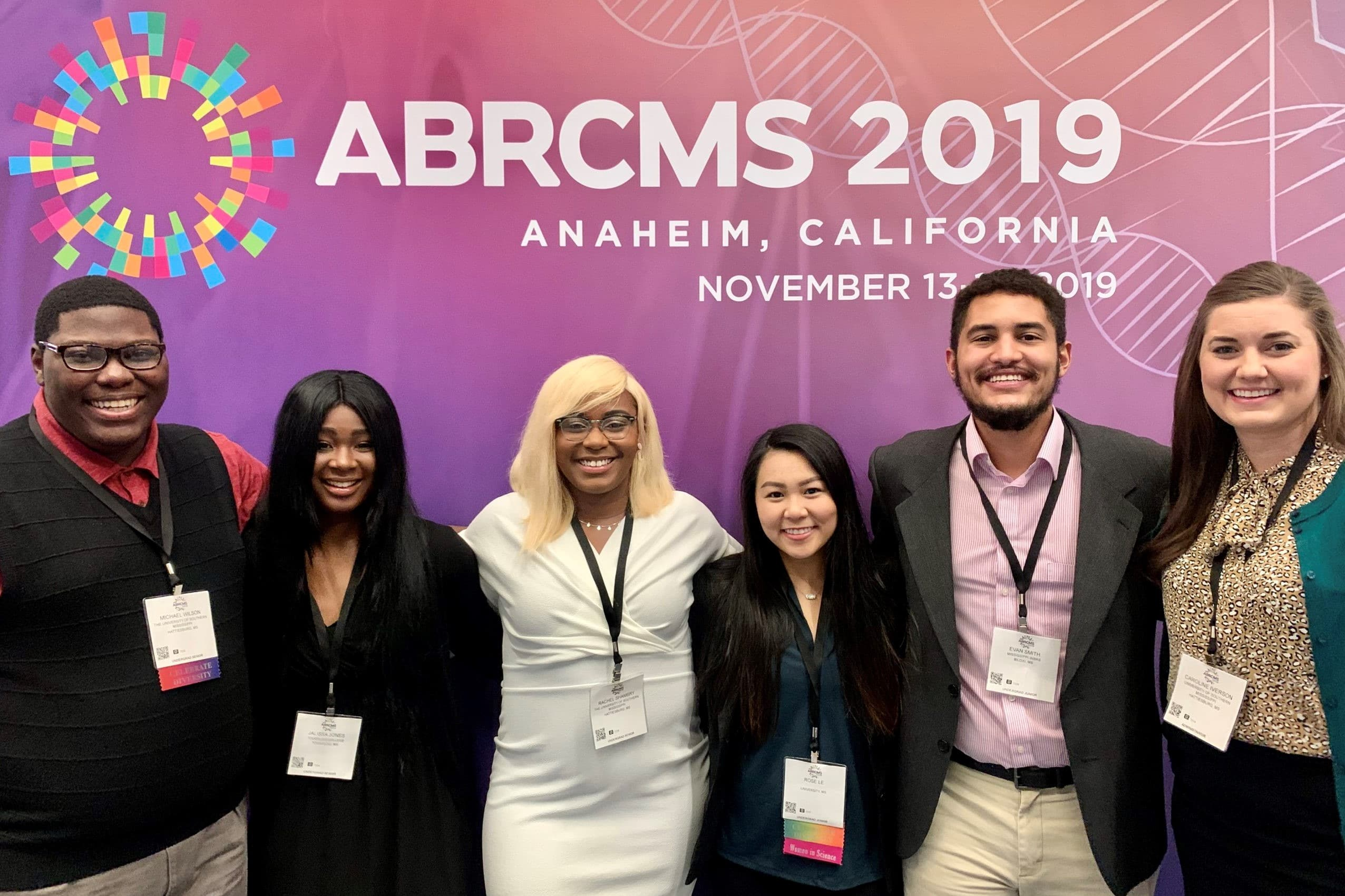 Mississippi INBRE & LSMAMP go to the Annual Biomedical Research Conference for Minority Students