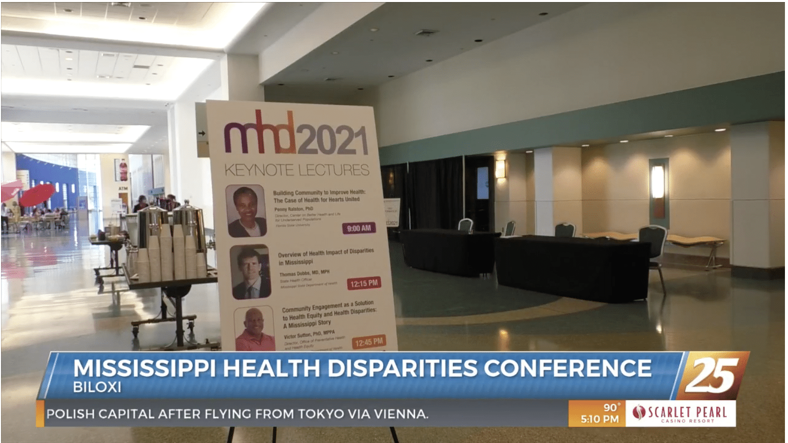 WXXV25 features Mississippi Health Disparities Conference 2021