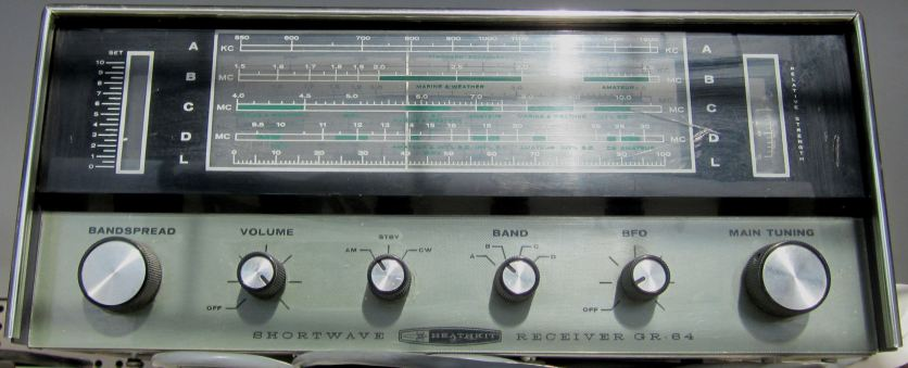 HEATHKIT GR-64 ShortWave receiver