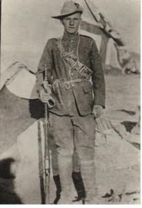 Pat Sinnott 1902 Irish Guards Mounted, Boer War, South Africa