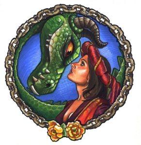 Damsels & Dragons logo web