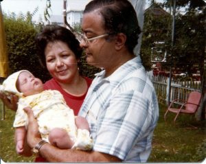 Mom, Dad, and Baby Me