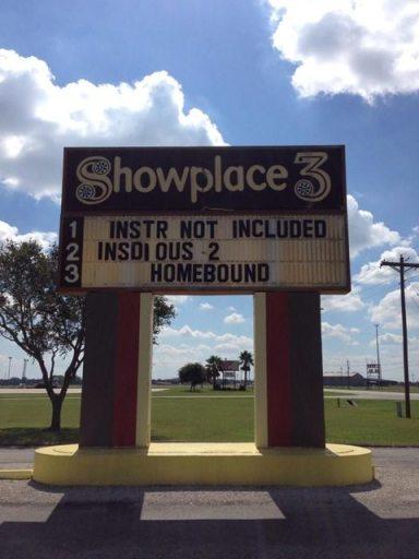 Homebound marquee