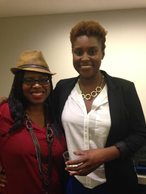 ColorCreative.TV with super producer Issa Rae of Awkward Black Girl. Photo credit by Teck Holmes