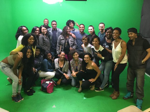 The Casting Ward's February class picture. Photo credit by Chavonne Lenoir