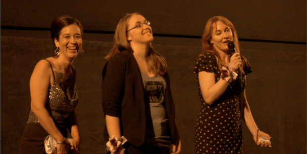 Stacy Pippi Hammon, Kayley Viteo and Heidi Honeycutt.
