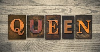 Queen Concept Wooden Letterpress Type