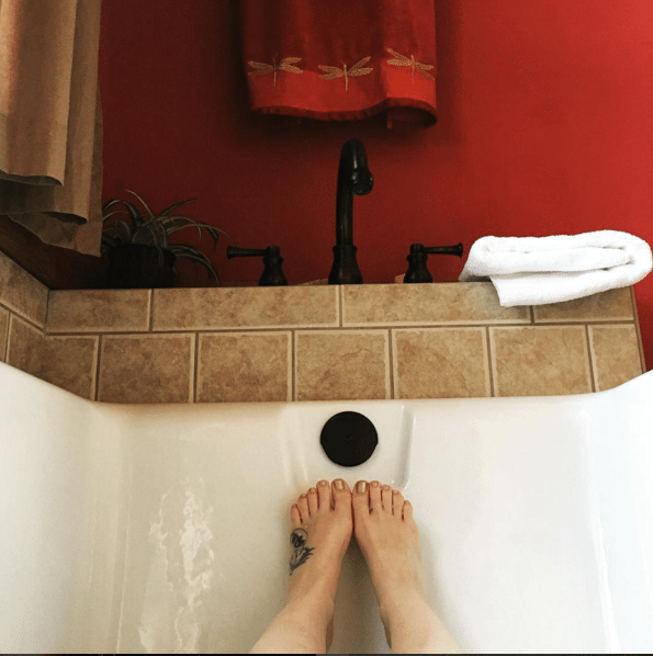 Bath @JennicaRenee on Instagram