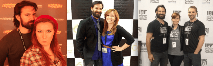 Ryan & Jennica Schwartzman at Sundance, Offshoot Film Fest, & the International Family Film Fest