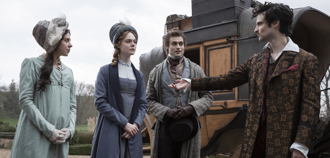 still from Mary Shelley