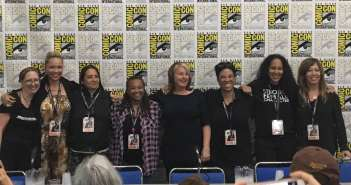 wome rocking Hollywood panel