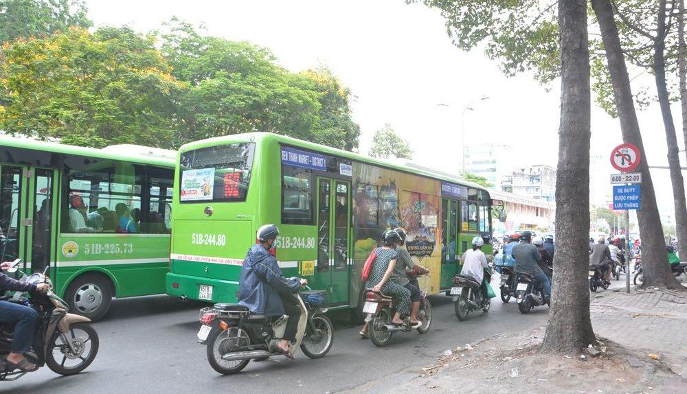 越南|Day1 新山機場到胡志明市區交通。152路公車每人5000越南盾 - 島主小姐's 環遊世界