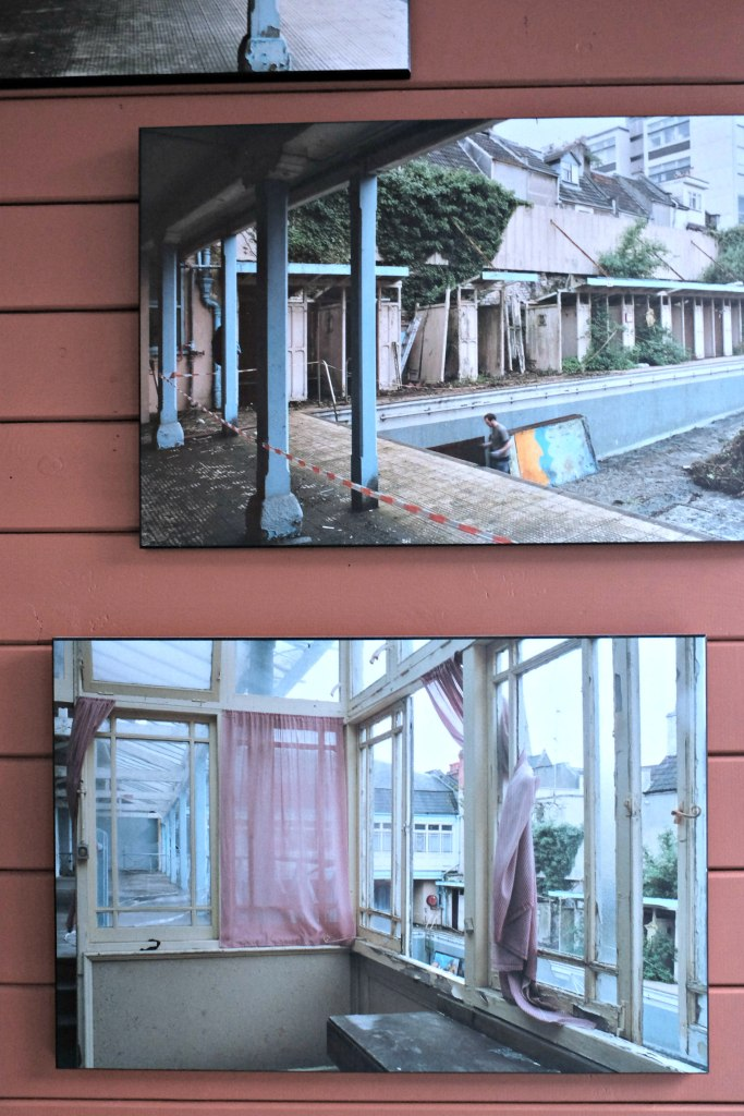 Picture of renovation pictures of clifton lido.  It was in a very sorry state!  48 hours in clifton itinerary.