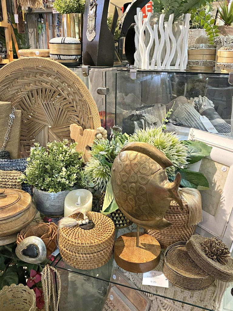 Picture of interior of a store. Guide To Spending A Day In Bangalow.