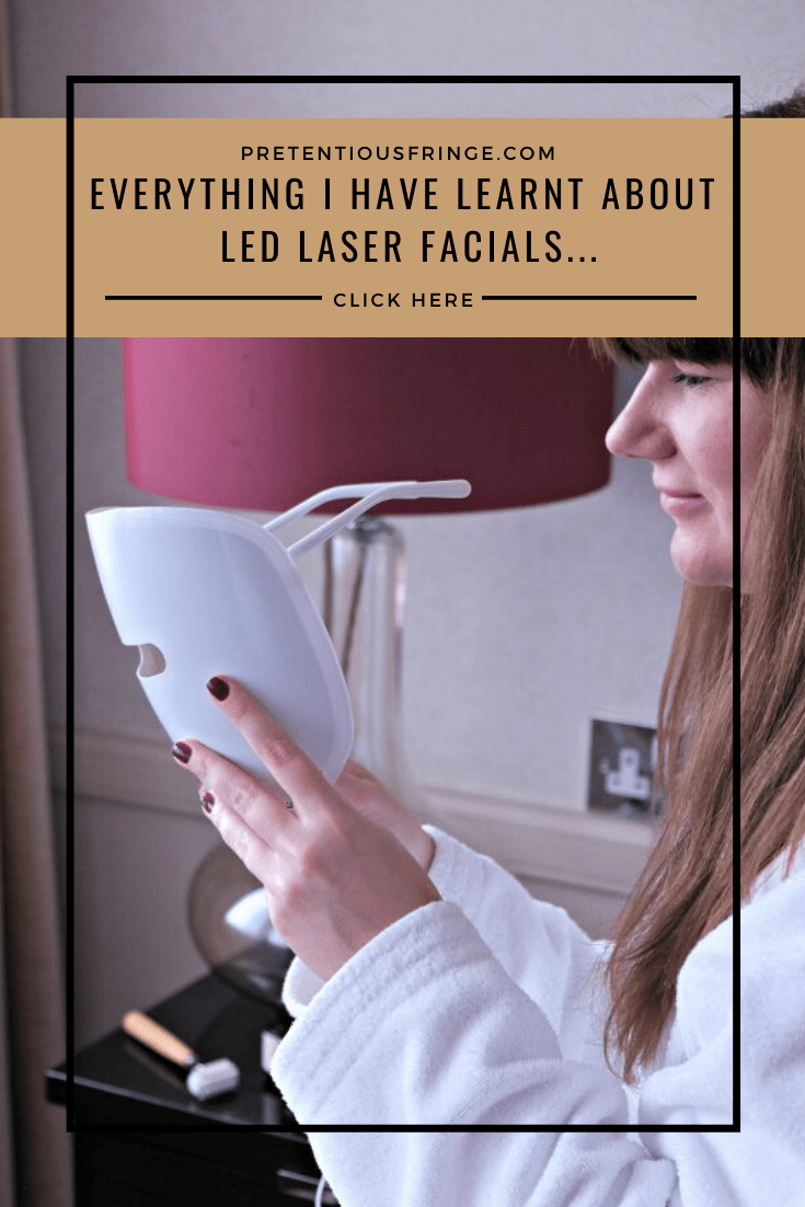 Pin me -Everything I Have Learnt About LED Laser Facials...