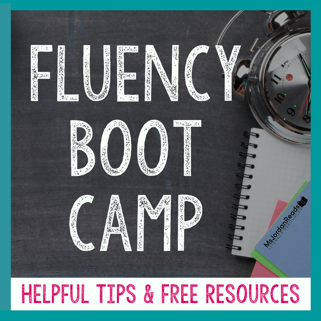 small resolution of Fluency Boot Camp - MsJordanReads
