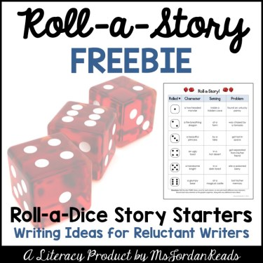 Roll-a-Dice Literacy Fun - MsJordanReads