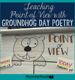 Teaching Point of View With Groundhog Day Poetry - MsJordanReads [ 1080 x 1080 Pixel ]