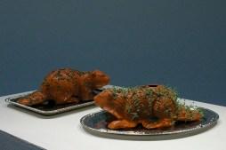 terracotta, chia, water, beaver, beavers