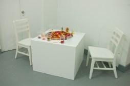 Felt, Chairs, White Cube space