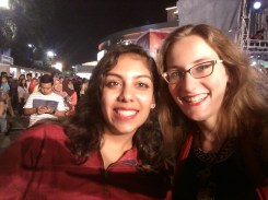Krupa and I looking pretty cute at the concert last night!