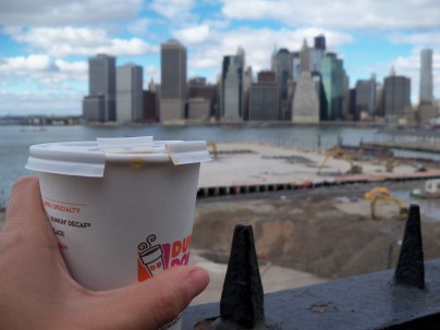 Brooklyn Heights Promenade - view across to Manhattan