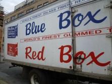 Gummed box van.