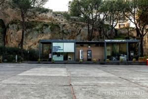 Билетные кассы в Замке Сант-Эльмо