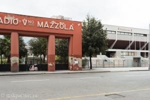 Красные ворота Stadio PalaMazzola