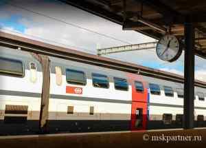 Из аэропорта в Цюрих на поезде