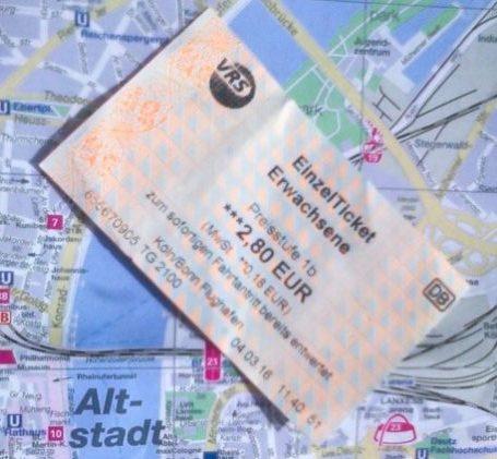 Билеты в Кёльн