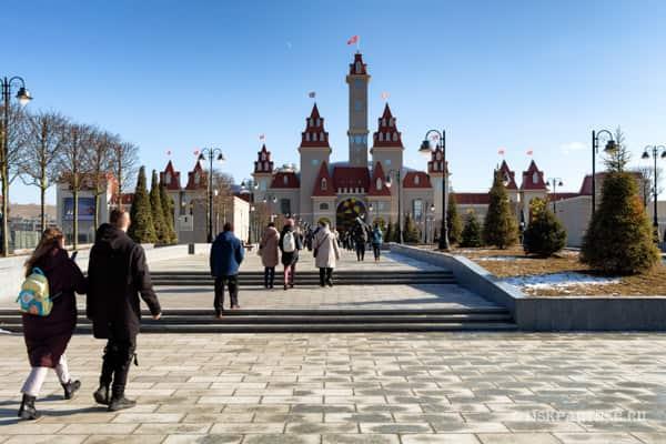 Парк Остров мечты в Москве