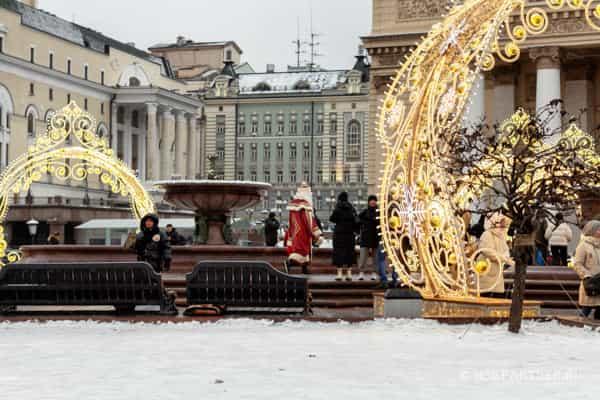 Наши пешие прогулки по Москве