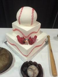 Cardinals baseball cake